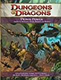 img - for Dungeons & Dragons: Primal Power - Roleplaying Game Supplement book / textbook / text book