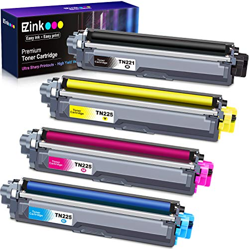 E-Z Ink (TM) Compatible Toner Cartridge Replacement for Brother TN221 TN225 to Use with HL-3140CW HL-3170CDW HL-3180 MFC-9130CW MFC-9330CDW MFC-9340CDW (1 Black