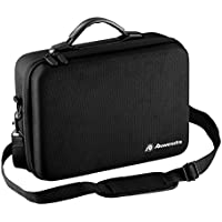 Powerextra Waterproof Carrying Case Shoulder Bag for DJI Mavic Pro and Accessories - Remote Control, Extra Batteries, Propellers and More