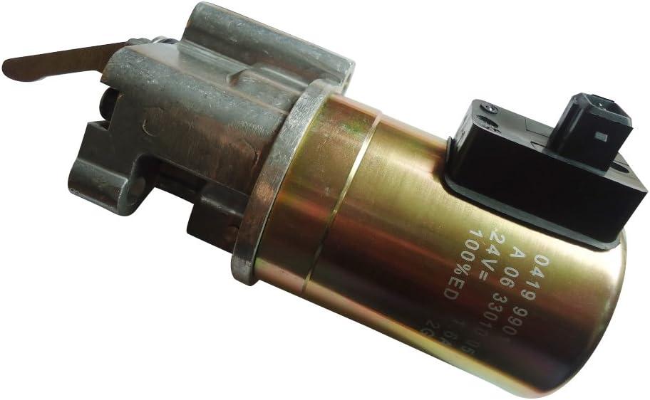 Mitsubishi Diesel Fuel Cut Shut-Off Solenoid Connector Plug Pigtail L3E S3L S4L