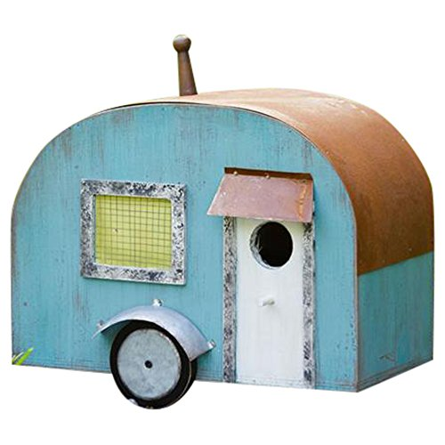 Your Heart's Delight Your Travel Trailer Birdhouse, Multi Review