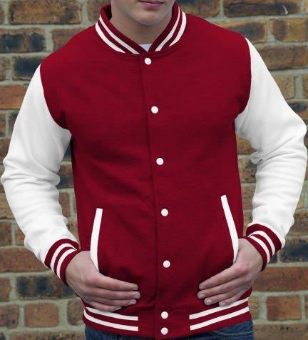 rouge veste s bleu vert en xS bordeaux gris bleu l manches taille blanches m COLLEGE rose xL marine Wei Pink violet noir xXL CXqda7w
