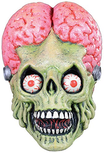 UHC Mars Attacks Full Head Adult Latex Mask Halloween Costume Accessory