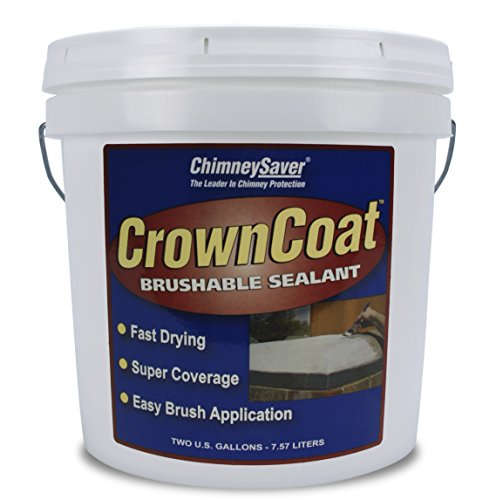 - CrownCoat Brushable Sealant, Standard color - 2 gallons