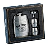Jack Daniels Barrel Flask/Gift Set