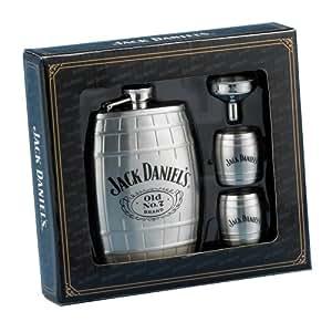 Jack Daniels Barrel Flask/Gift Set