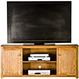 Eagle Adler Oak Collection TV Console, 60, Unfinished