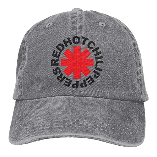 MountGet Red Hot Chili Peppers Adult Retro Adjustable Cowboys Cap&Hats Gray