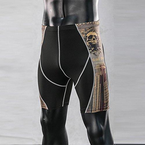 Uomo Sport Yoga Palestra Aasciugatura Lmmet Collant Allo Pantaloni Asciutto Leggings Rapida Atletico Quick Compressione Corsa Compression dRABAxnSW