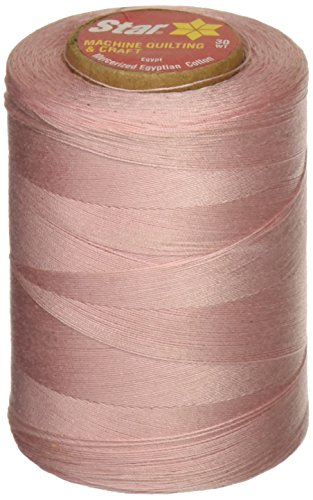 Star Mercerized Cotton Thread Solids 1200 Yards-Light Pink ()