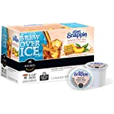 Snapple Diet Peach Iced Tea, Keurig K-Cups, 72 Count