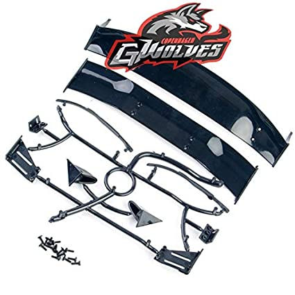 Buy Generic 1set 1/10 RC Car Spare Parts Drift Tail Wing