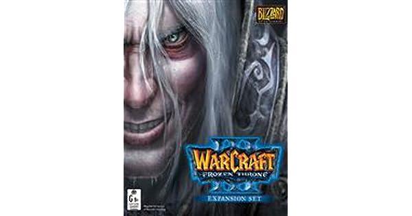 Amazon Com Warcraft Iii The Frozen Throne Blizzard