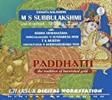 Paddhatti - The Tradition Of Burnished Gold - M S Subbulakshmi, Live In Concert 1971 Vol I, II And III (3-CD Pack)