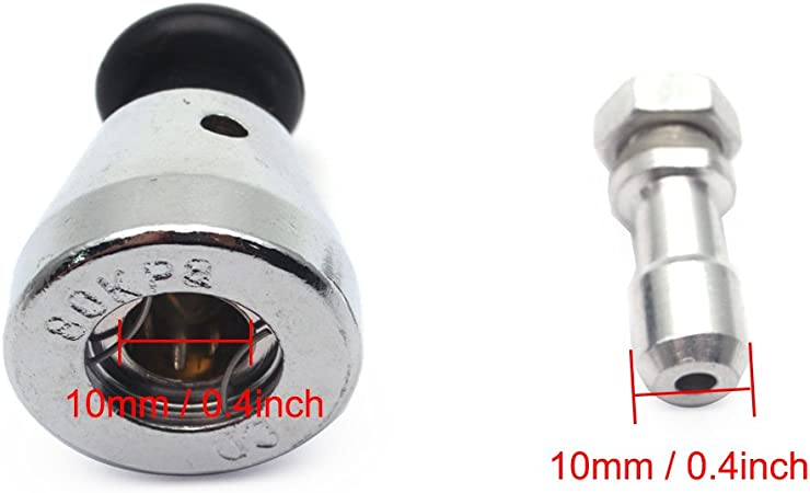 Stainless Steel Cap Pressure Cooker Part Safety Relief Jigger Valve 80 KPa