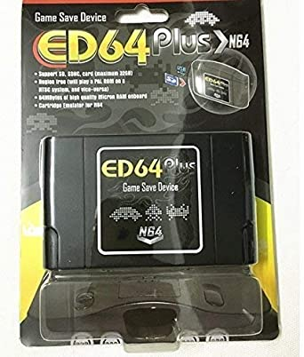 Entrega gratis ED64 Plus Game Save Drive (sin tarjeta sd): Amazon ...