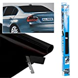 All Ride Car Window Tint Ultra Dark Black Film 300X50Cm
