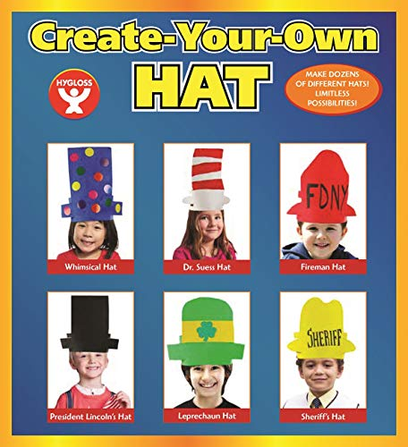 Hygloss Make-Your-Own Hat Paper Craft 12 Piece (65284)
