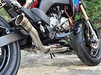 ZoOM Exhaust Kawasaki Z125 Z125pro 2018 2019 Full System The Brute Low  Mount NEW