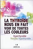 La thyroïde nous en fait voir de toutes les couleurs : Hyperthyroïdie, nodules, hypothyroïdie