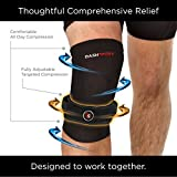 DashSport-Knee-System-includes-1-Copper-Compression-Knee-Sleeve-and-1-Patellar-Knee-Strap-Best-Knee-support-brace-for-patella-tendonitis-runners-or-jumpers-knee