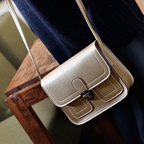 PU Vintage Crossbody carré Republe Or de Porte Sac Sling Fille Voyage poches Sacs bandoulière téléphone Femme à Messenger récipient de f5wdqfA