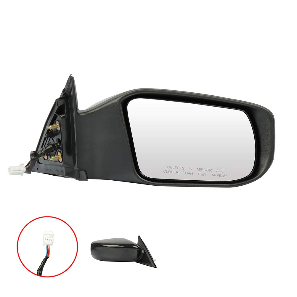 ECCPP Right Side Mirror Power Adjustment Non-Folding with Cover Compatible with 2013 Nissan ALTIMA2.5 963013TH0A