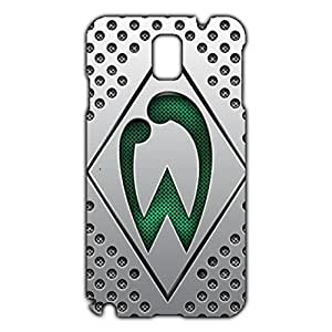 Unique Design FC Sportverein Werder Bremen Logo Phone Case Cover For Samsung Galaxy Note 3 3D Plastic Phone Case
