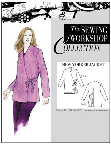The Sewing Workshop New Yorker Jacket Sewing Template, Multi-Size (Sewing Workshop)