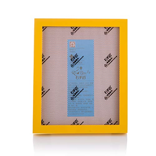 Fulemay Simple and Stylish Plexiglass Picture Frame 4x6 High-Grade Wooden Photo Frame for Tabletop Display and Wall D