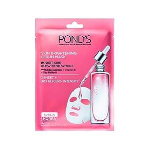 POND'S Pond's Skin Brightening Serum Mask With Vitamin E & Niacinamide, 21 g