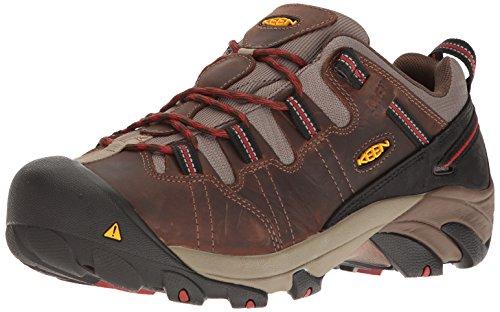 (KEEN Utility Men's Detroit Low Internal MET Industrial & Construction Shoe Cascade Brown/Bossa Nova 9.5 D)