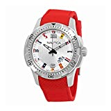 Nautica NCS 16 Flag Silver Dial Mens Watch NAI13513G