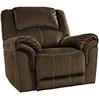 Signature Design by Ashley 9570125 Quinn Lyn Recliner, Coffee