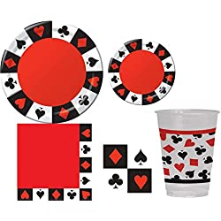 Game Night Poker Casino Party Kit