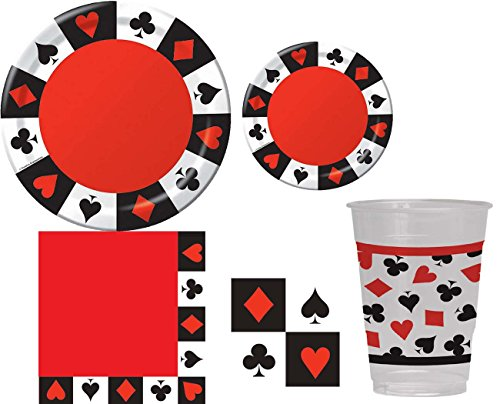 Game Night Poker Casino Party Kit by Creative Creations