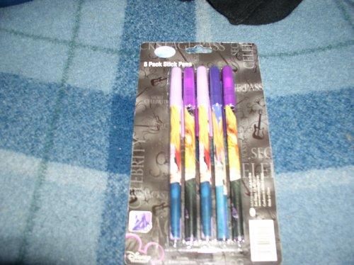 hannah-montana-stick-pens-5-pack