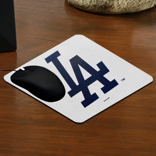 The Memory Company MLB Los Angeles Dodgers Official Deluxe Neoprene Mouse Pad, Multicolor, One Size by The Memory Company