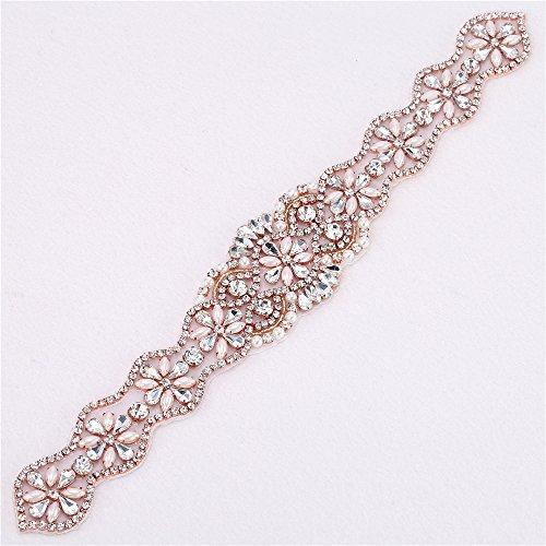 embellished belt for wedding dress - 3
