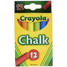 Crayola Chalk, Assorted Colors, 12 Sticks Per Box