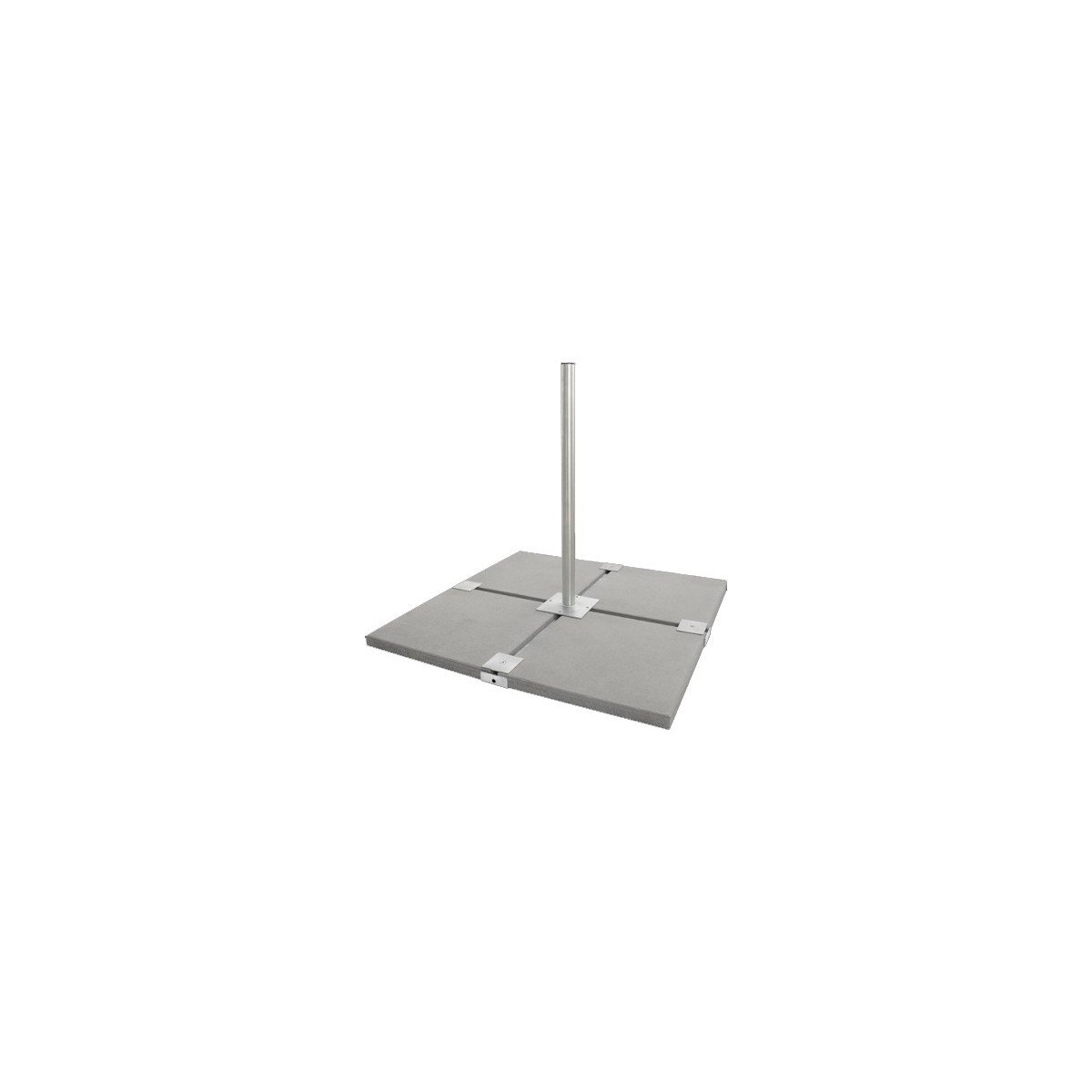HDSAT Iron 5 Support Balcon/Terrasse pour Parabole Satellite - Haute stabilité