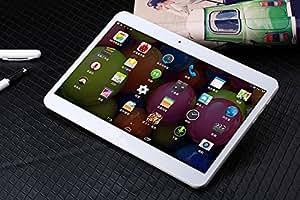 """ARBUYSHOP 2015 Lenovo A101 10.1 """"llamada de teléfono de la tableta PC de la tableta 3G 1280 * 800 Quad Core Android 4.4 2G RAM 16G / 32G ROM versión (3G + GPS + Dual SIM) GSM, 16G añadir caso"""