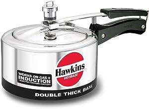 Hawkins Hevibase IH20 Pressure cooker, 2-Litre, Silver