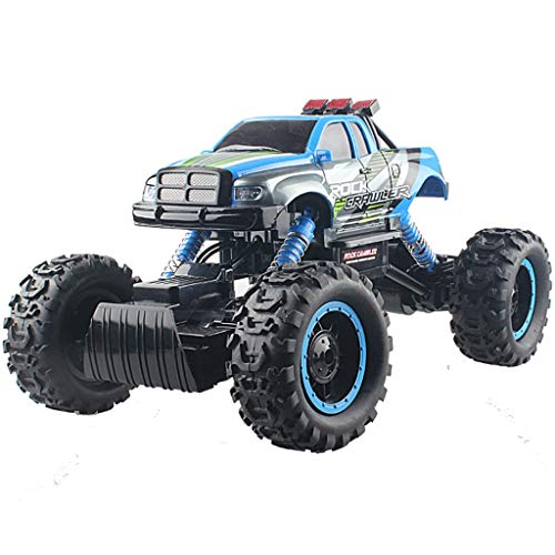 (Remote control car Electric car Off-Road Four-Wheel Drive Climbing Charging Toy Car Drifting Anti-Drop Collision Boy Toy Children (Color : B))