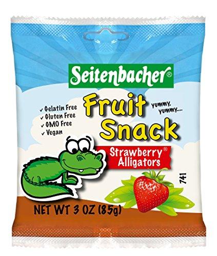 Seitenbacher Cherry Dolphins Gummi Fruit, 3.0-Ounce Bags (Pack of 12)