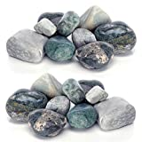biOrb Green Aquarium Pebbles, TWO Pack Bundle