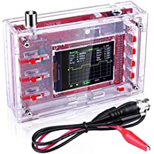 """Quimat DSO138 Pocket-Size Digital Oscilloscope Kit Open Source 2.4"""" TFT 1Msps with Probe and Protective Case, Welded Version (Case Needs to be Assembled)"""