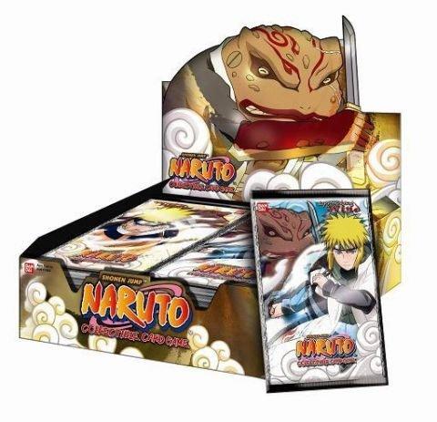 Các bộ bài Naruto hàng Độc & Chất, lá bài Naruto hàng hiếm giá Shock