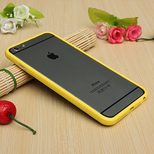 Iphone 6 plus 6s plus (5.5 inch) Silicon Bumper Yellow by G4GADGET®