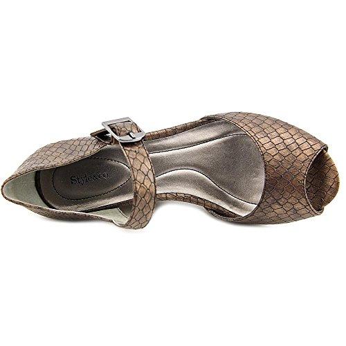 Style & Co. - Sandalias de vestir para mujer marrón